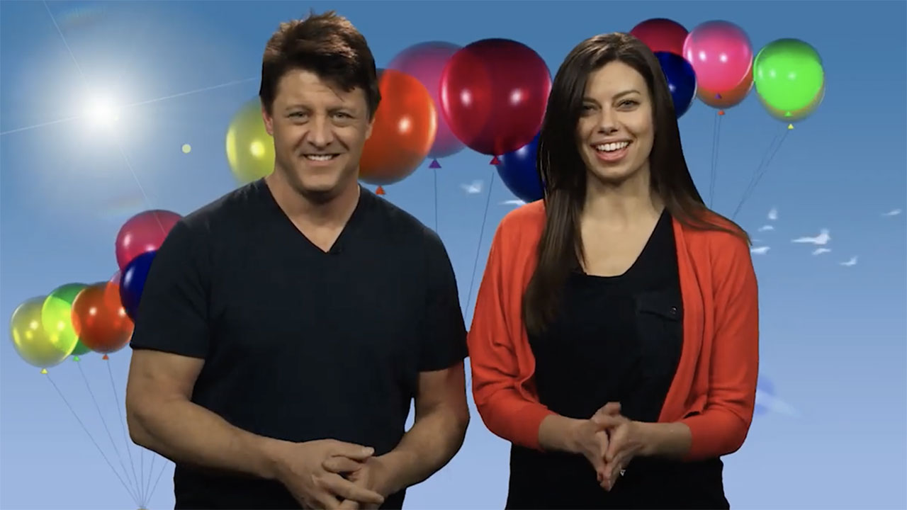 Fred and Lauren wish you a Happy Birthday!