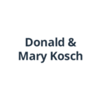 Donald and Mary Kosch